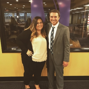 Ben is on the right next to former WSU Student Body President & Students United Board Member Nicole Zimmerman