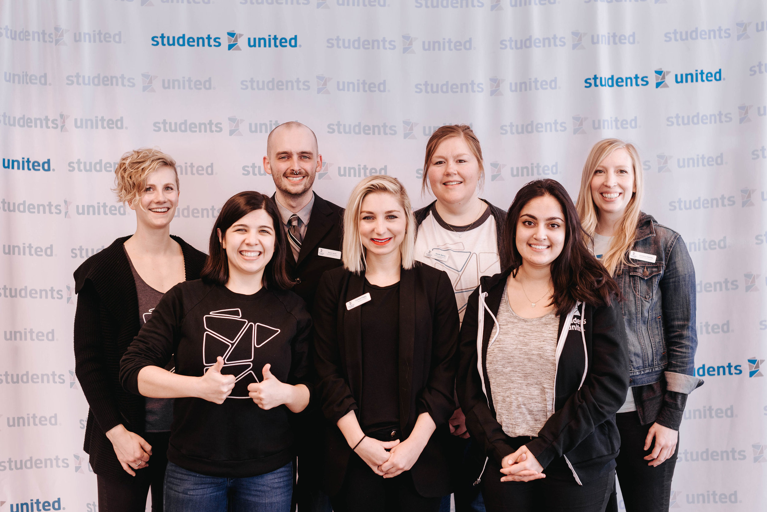 Students United staff in February 2019