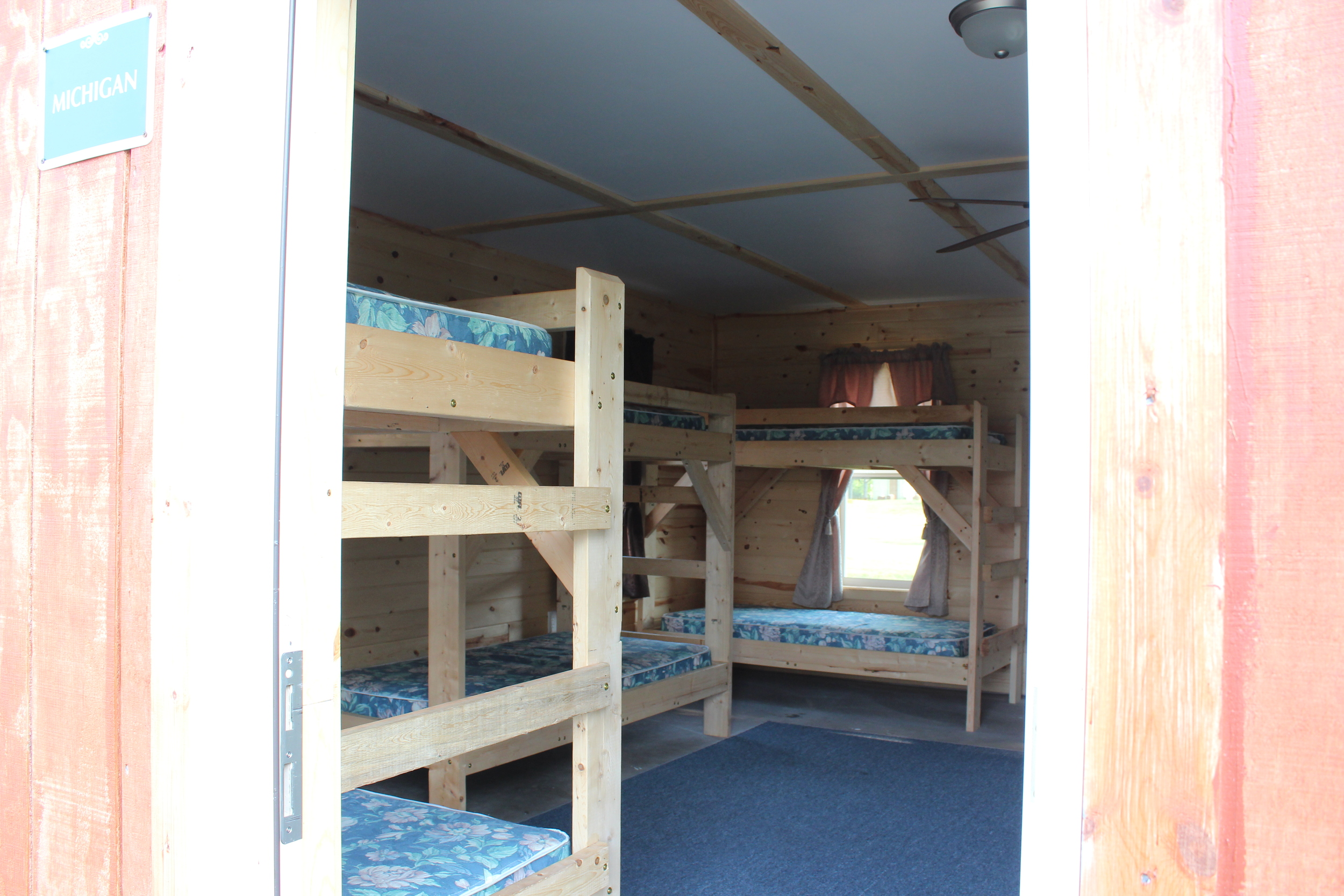 Inside Michigan dorm