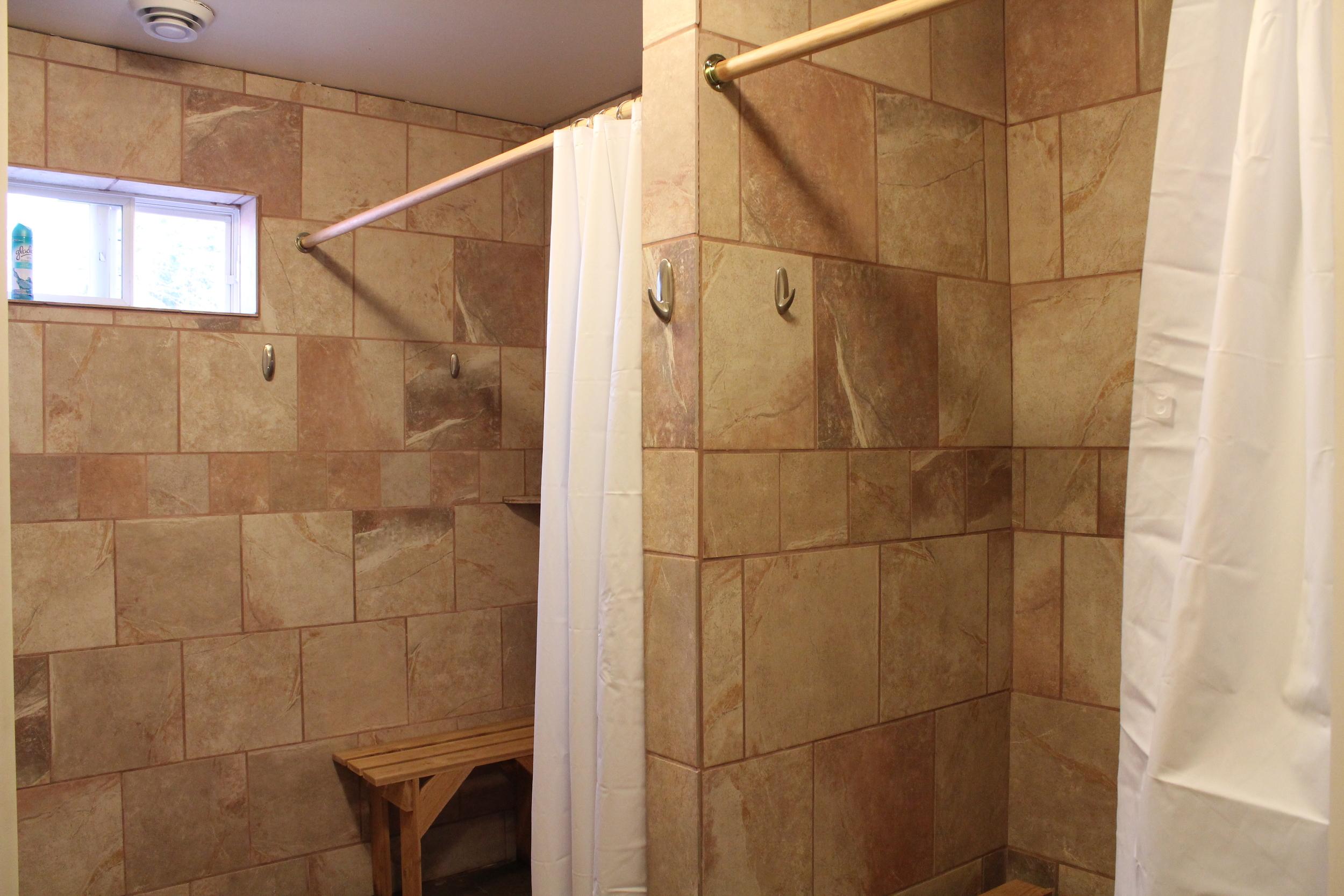 Superior dorm showers