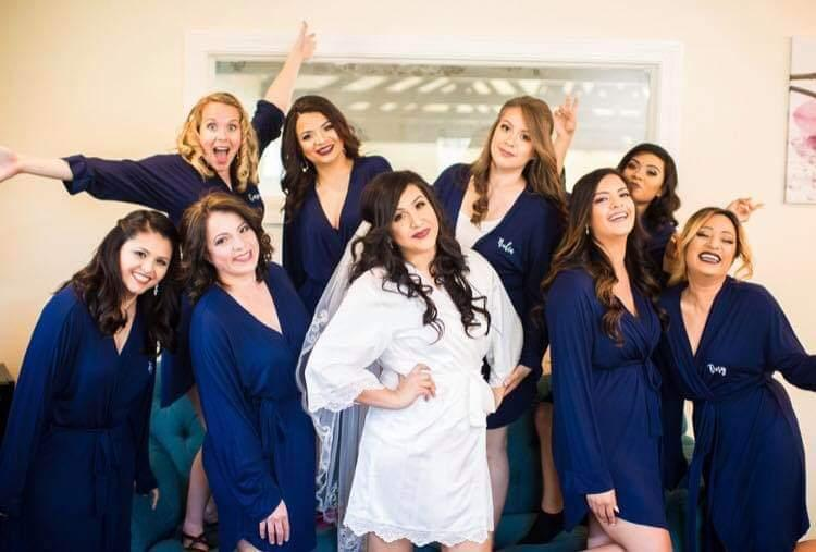 Bridal Party Beauty Services at Blue Rose Beauty