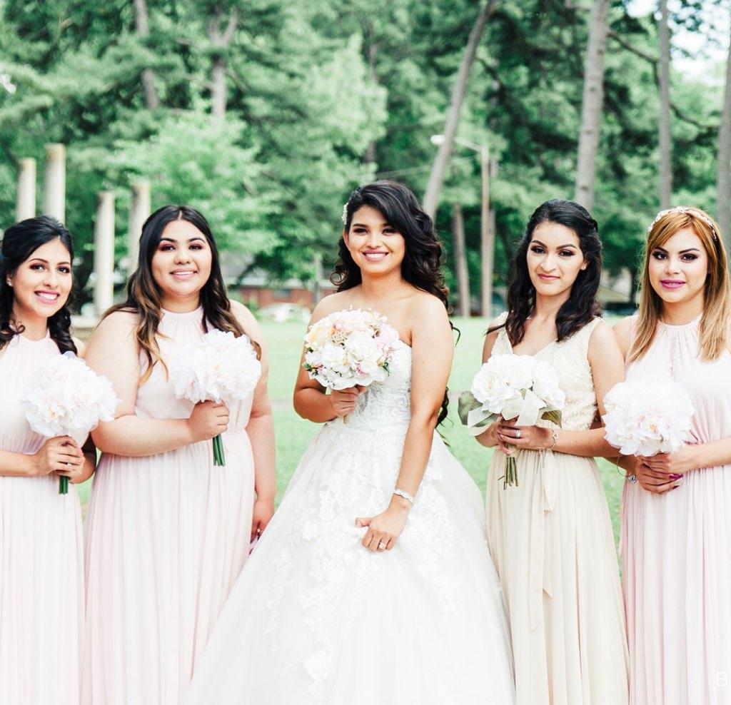 Bridesmaid Hair and Makeup Services in Central Arkansas