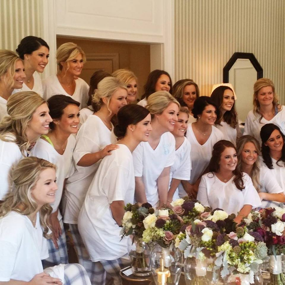 Bridal Party Hair and Makeup in Central Arkansas