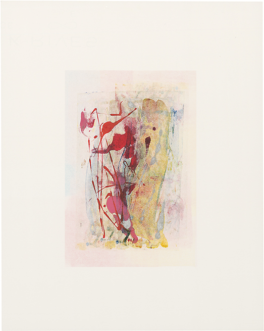 monotype, 4 x 6 in., 2012