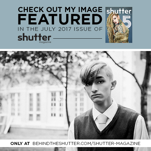 proudly published in Shutter Magazine - 2017