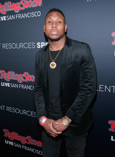 NFL player Robert Golden attends Rolling Stone LIVE San Francisco party presented by Talent Resources Sports