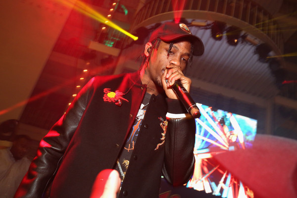 Travis Scott performs at Rolling Stone LIVE San Francisco party presented by Talent Resources Sports