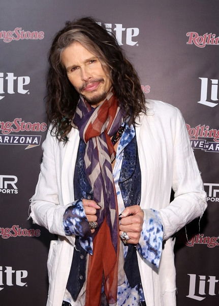 Recording artist Steven Tyler of Aerosmith attends Rolling Stone LIVE Arizona Presented by Talent Resources Sports