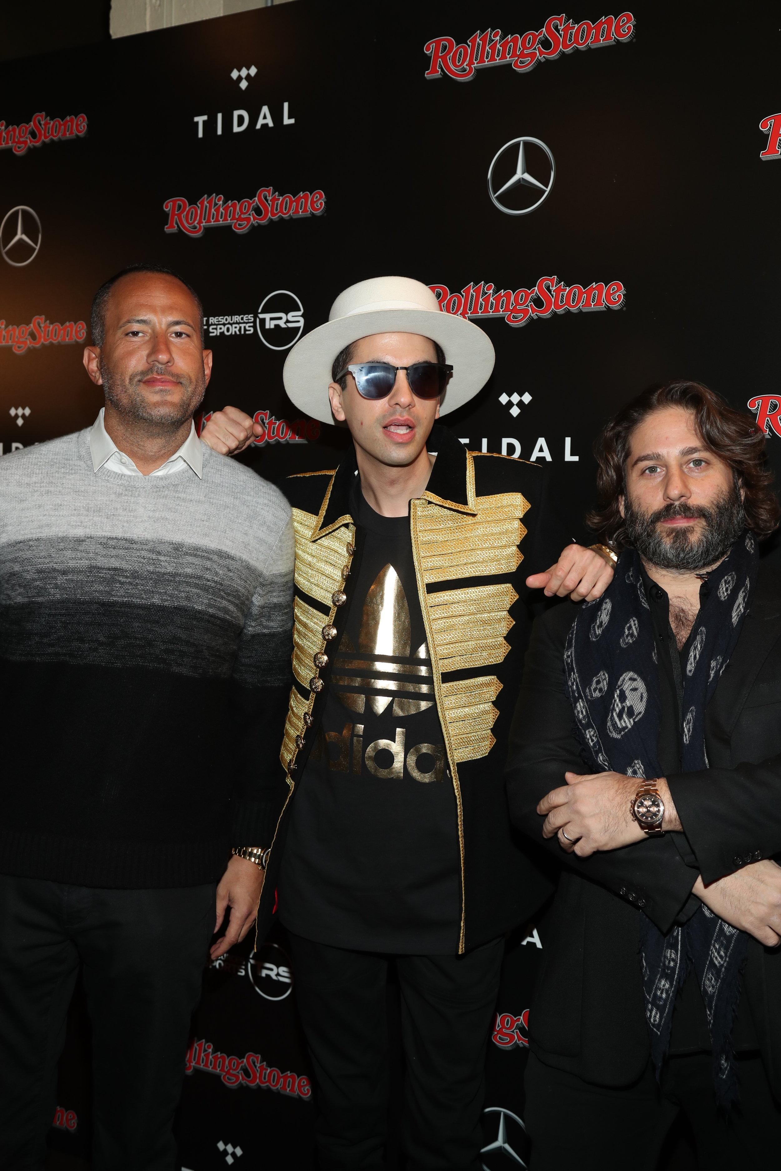 David Spencer, DJ Cassidy & Michael Heller