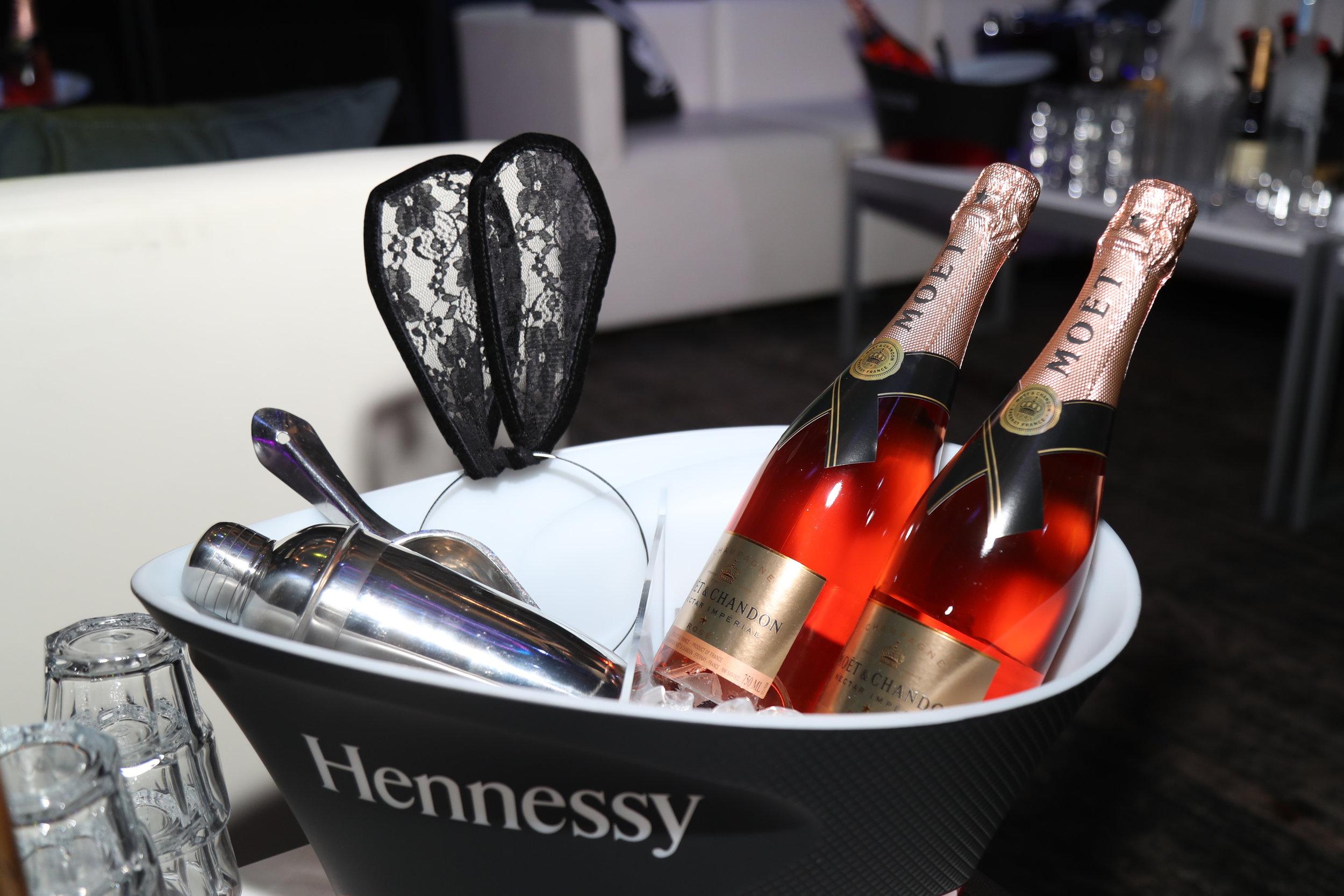 Sponsor Möet Hennessy at Playboy's Big Game Party