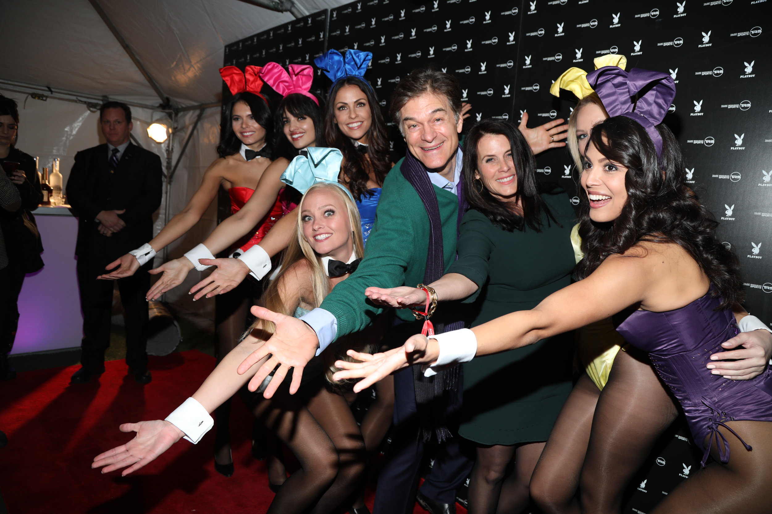 Dr. Oz with Playmates