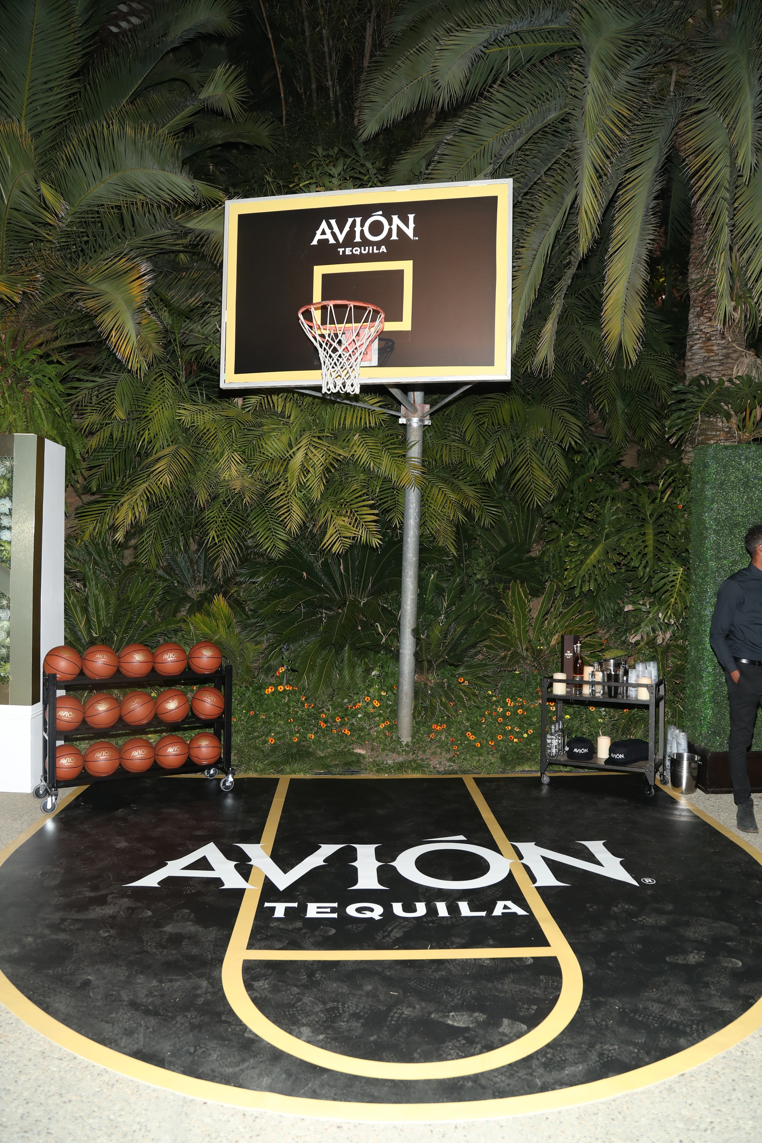 Sponsor, Tequila Avión activation at the event