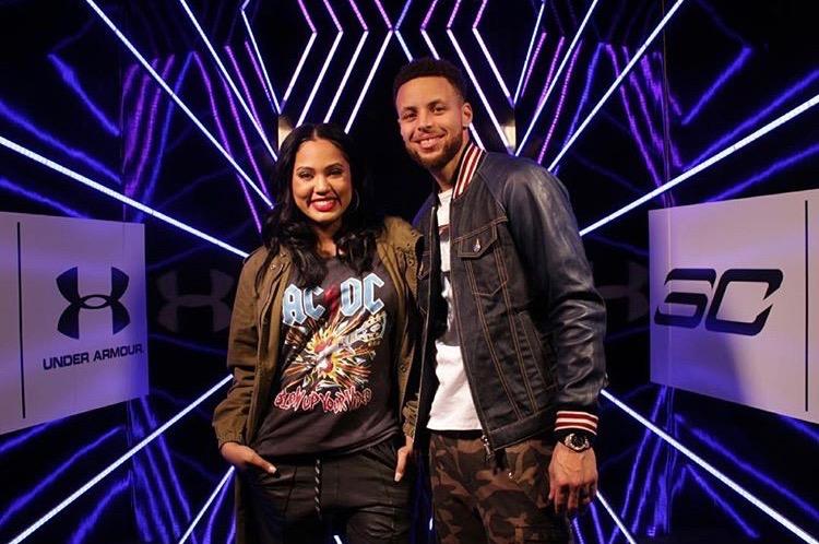 Ayesha & Stephen Curry