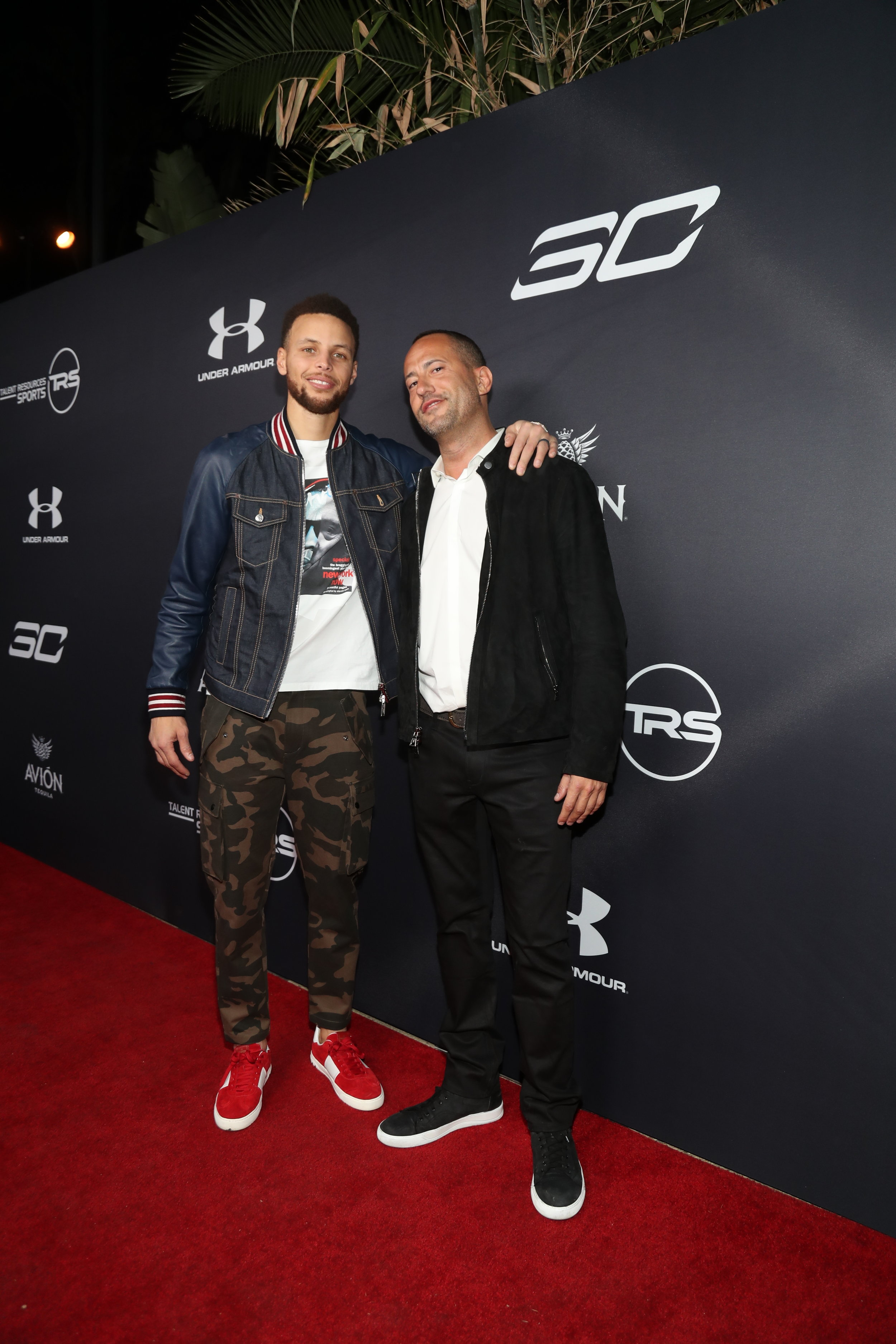 Stephen Curry & David Spencer