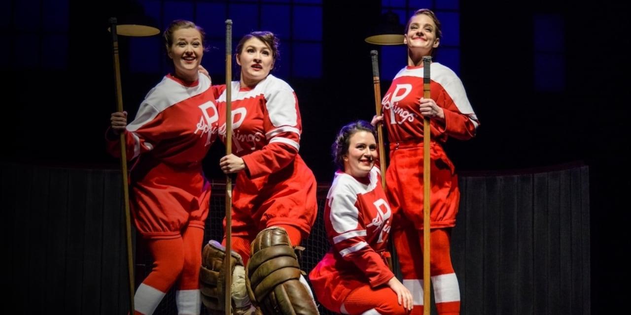音乐剧---荣耀Glory - 1933年四位杰出女运动员突破重重困难,在以男性为主导的冰球时代赢得一席之地。In 1933, four female hockey athletes prove to Canada that hockey isn't just a sport for men.星期五3月29日@7:30pm星期六3月30日@3:00pmFri. Mar. 29 @ 7:30pmSat. Mar. 30 @ 3:00pmA Western Canada Theatre Production