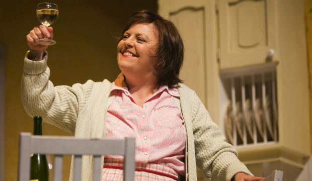 Nicola is one of her many performances as  Shirley Valentine