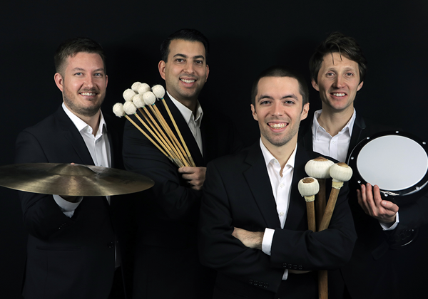 "CLASSIC ""HITS"": FRINGE PERCUSSION WITH PAOLO BORTOLUSSI, FLUTE - January 12, 2020 ● 3pmGrosvenor TheatreBaroque and classical masterworks for flute and percussion."