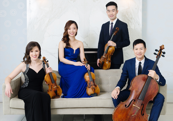 Beethoven 250: Rolston string quartet with ian parker, PIANO - April 19, 2020 ● 3pmGrosvenor TheatreAward-winning musicians celebrate Beethoven's 250th birthday.