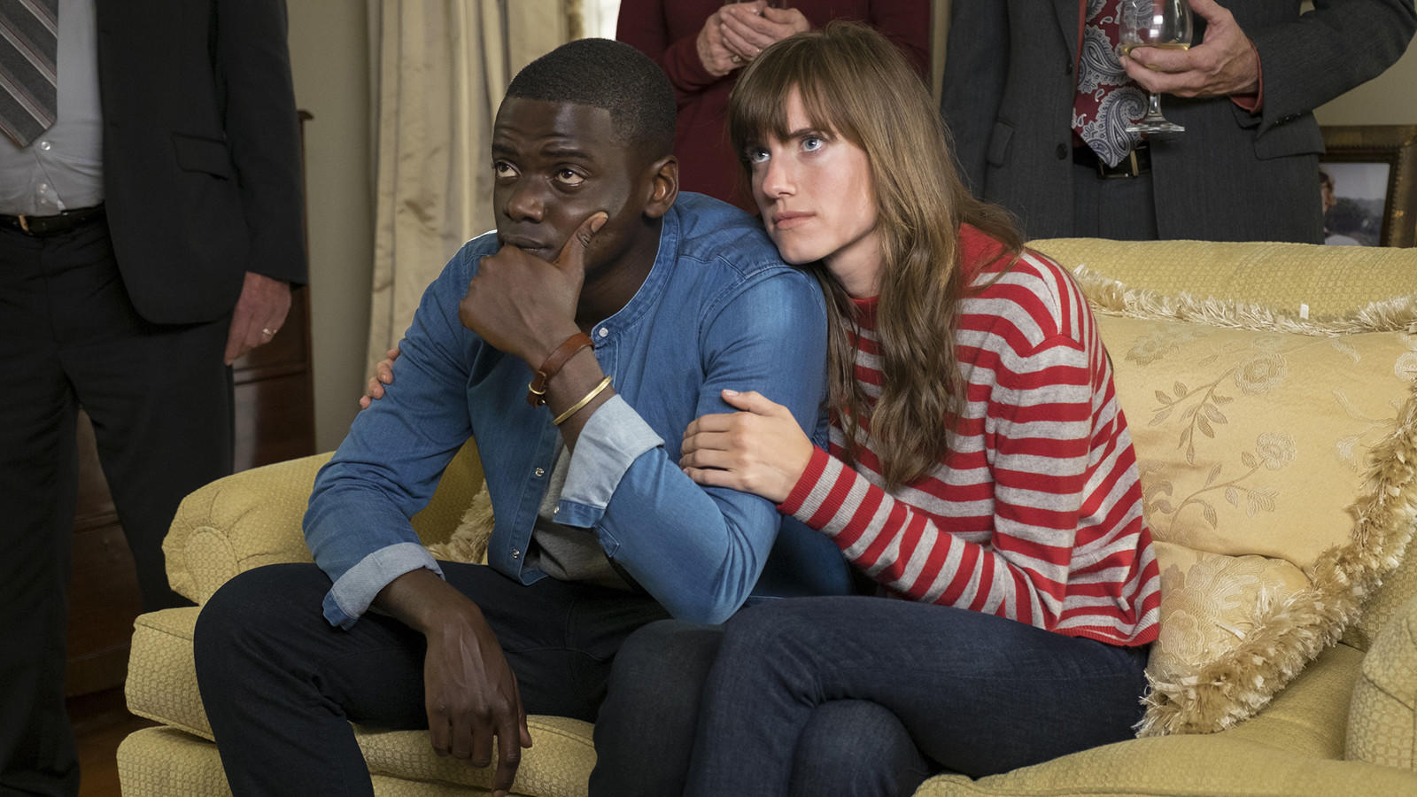 "Daniel Kaluuya and Allison Williams in ""Get Out,"" courtesy of Universal Pictures"