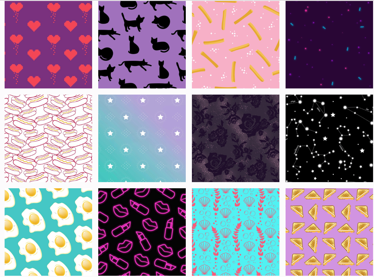 Patterns I've designed