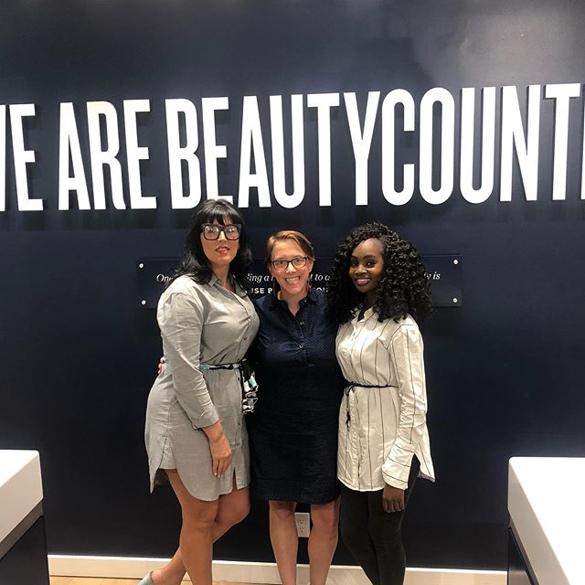#Fbf Sometime ago.. With my Beautycounter peeps! 👧🏾👧🏼👧🏻 #beautyblog#beautycounter#makeupstore#soho#makeupartist#skincare#photooftheday#picoftheday#instagramers#blogging#influencer#safebeauty#cleanbeauty#fbf#photo#photography#nyc#mua#fashionblogger#fashion#mood#look#blogger