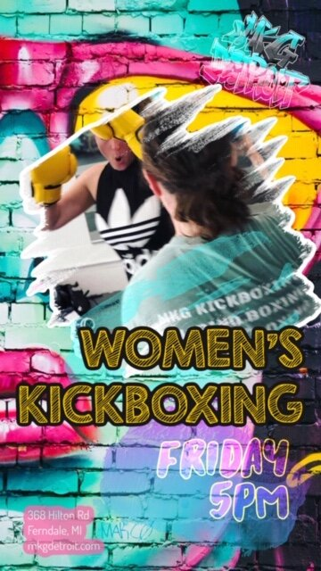 WOMEN'S KICKBOXING - real kickboxing for real health