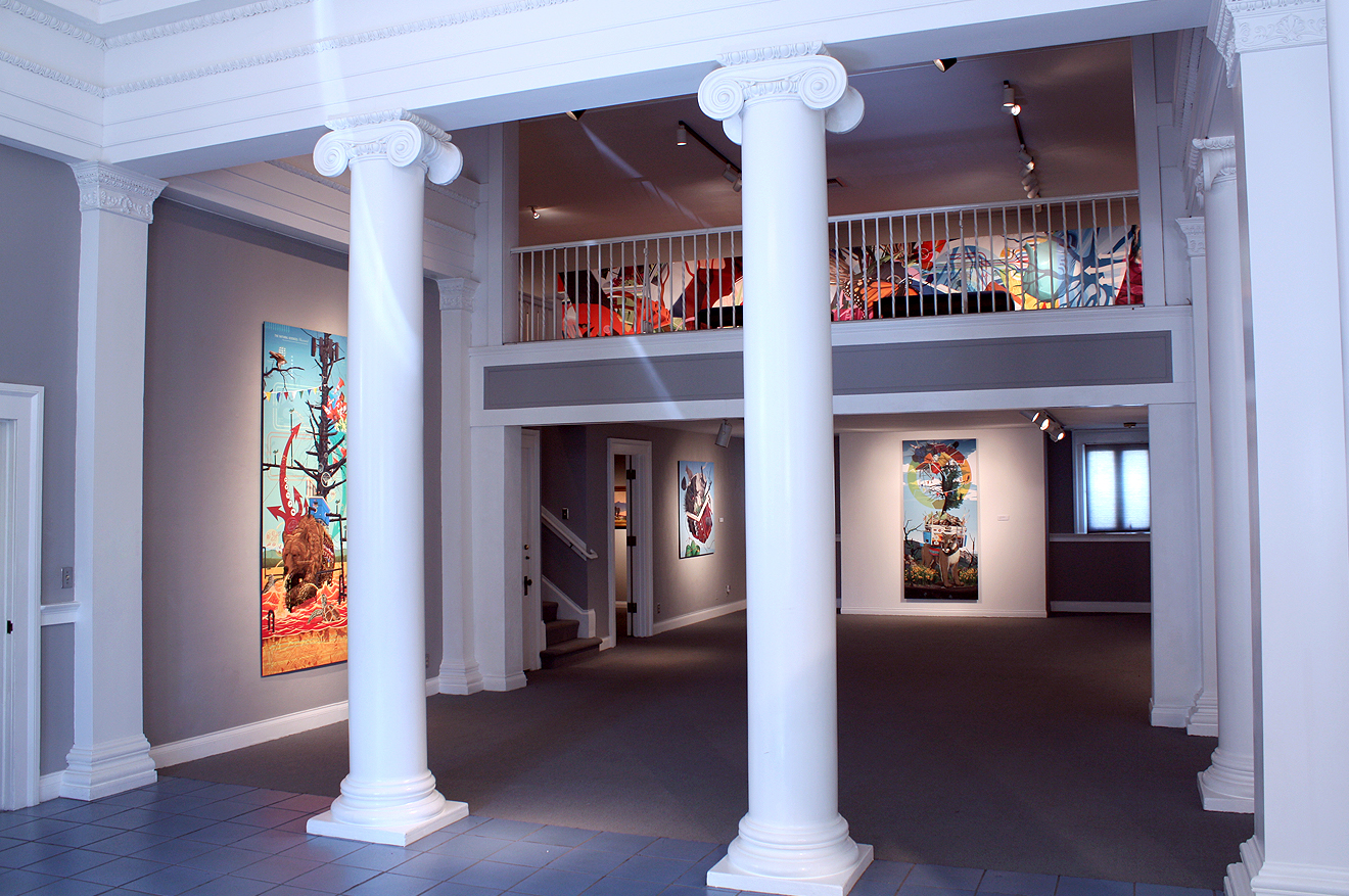 Installation View at the Carnegie Art Museum