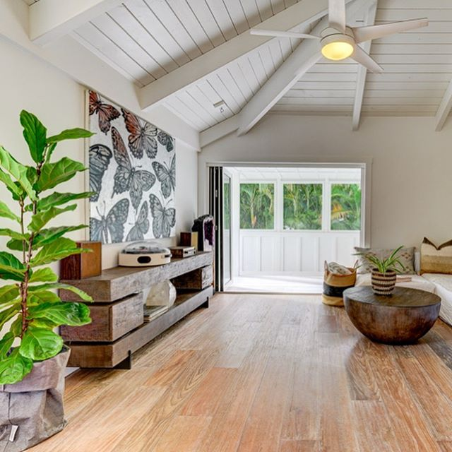 Just listed!  The fresh forethought in design that was poured into this home is both inspiring and timeless.  Lush landscaping hugs the permitter of this spacious yard, creating a private oasis in the heart of one of Kauai's favorite beach towns.  With its small town charm and raw rich beauty that surrounds you at every stop, it is easy to understand why Hanalei Bay has been consistently referenced as one of the most beautiful places in the world to live.  Check out our website for more info - luxkauai.com #private #hanalei #kauai #hawaii #cottage #beauty #renovate #remodel #raw #outdoor #cozy #modern #beachhouse #bungalow #realestate #luxury #interiordesign #teak #raw #beachlife #architecture #bright #waterfall #ocean #surf #boho #bohemian #hendrix #island #vibes