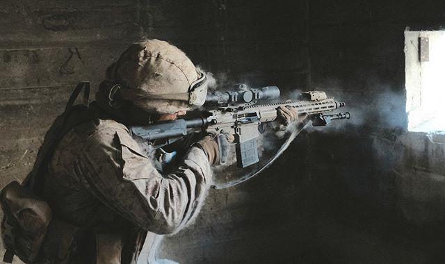 Needs more atmo. • • BTS 📷 @davemkeller  #barrett #riot #rec10 #marines #military #war #film #bts #agencylife #weareriot #riotslc #commercial #advertising #cinematography #soldier
