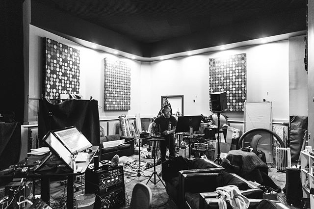 The work doesn't stop when the cameras turn off.  Foley sessions with Strawberry Sound.  @thelastqueenonearth // 📷 @michaelshums