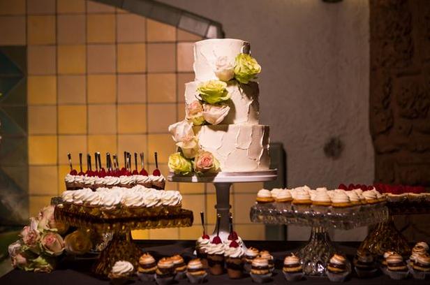 orange county wedding event planner wedding cake and dessert station