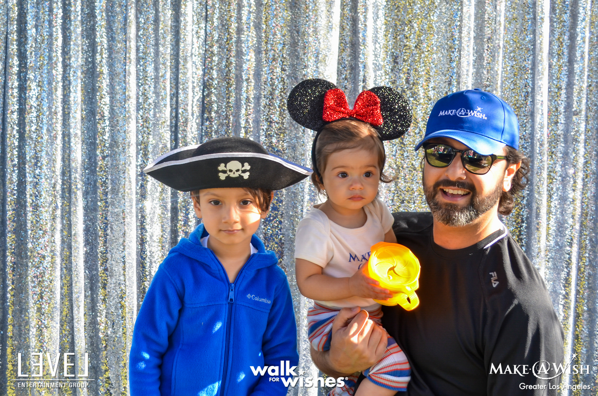 orange county charity social event planner make a wish with kids