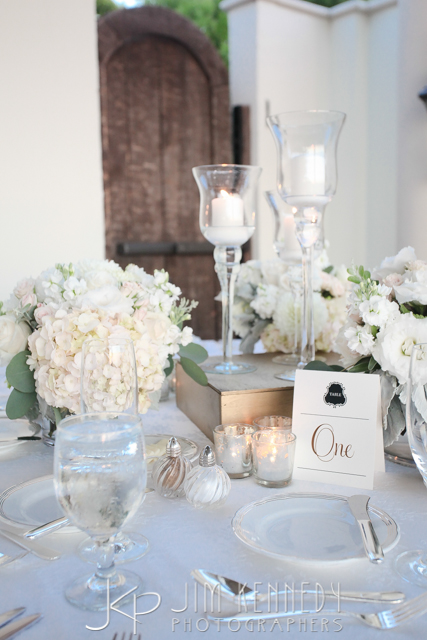 orange county wedding event planner table numbers