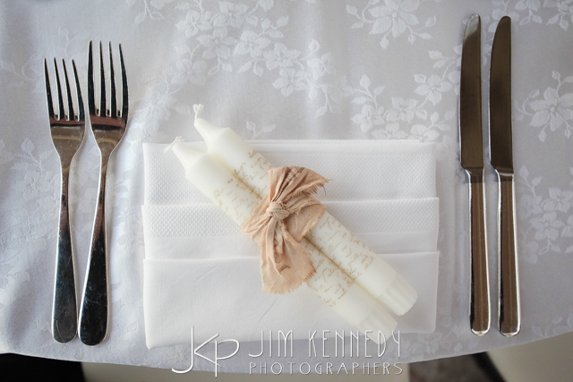 orange county wedding event planner place setting