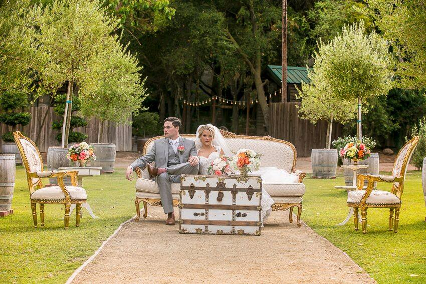 orange county wedding event planner love seat picture