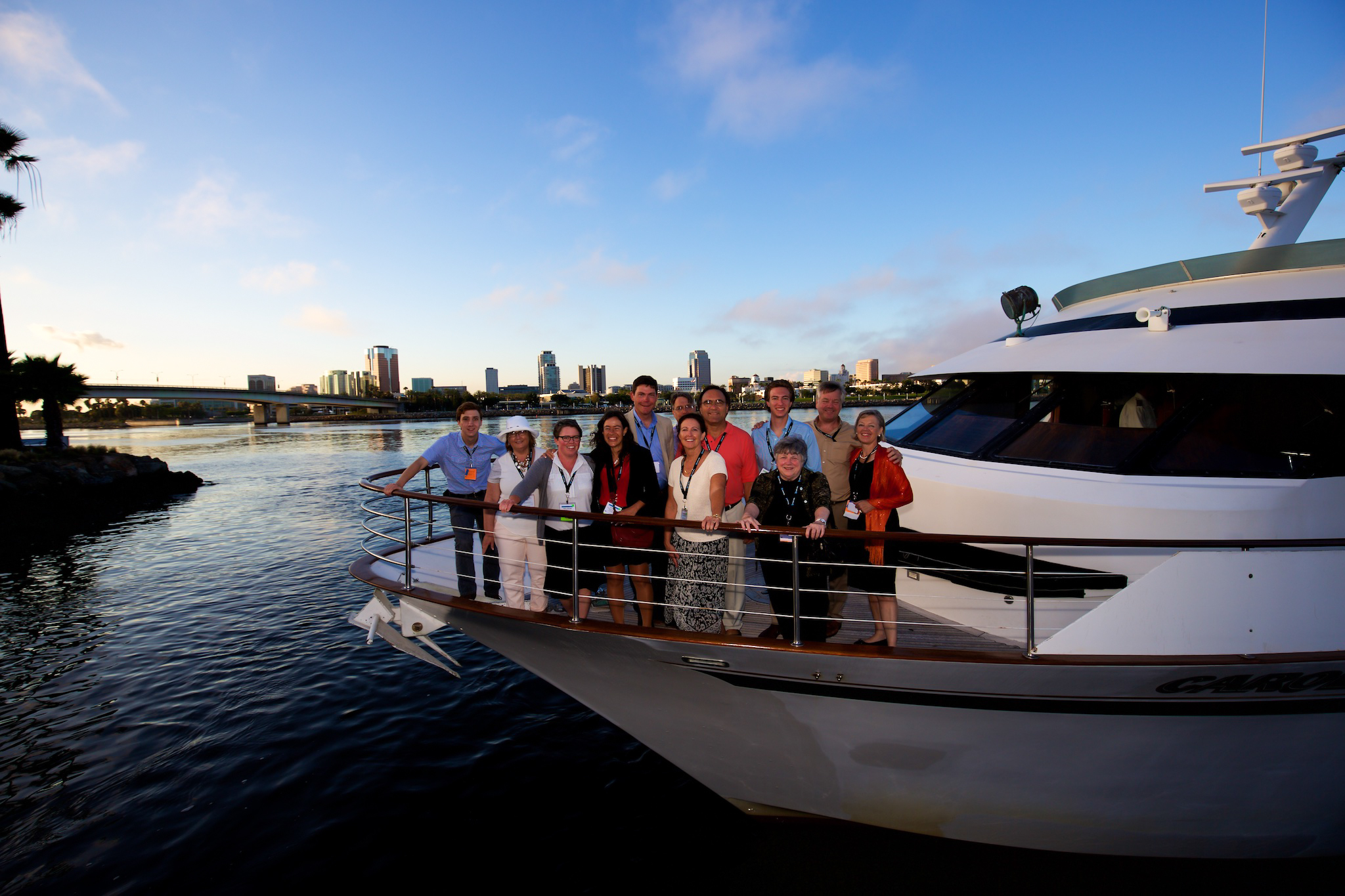 orange county corporate event planner yacht