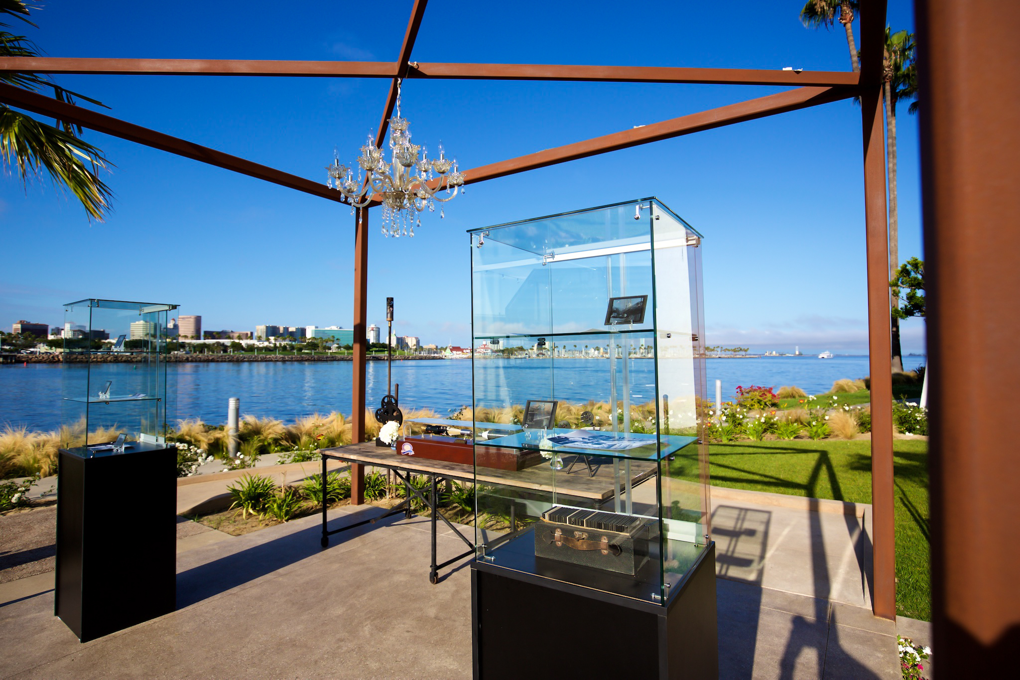 orange county corporate event planner glass display cases