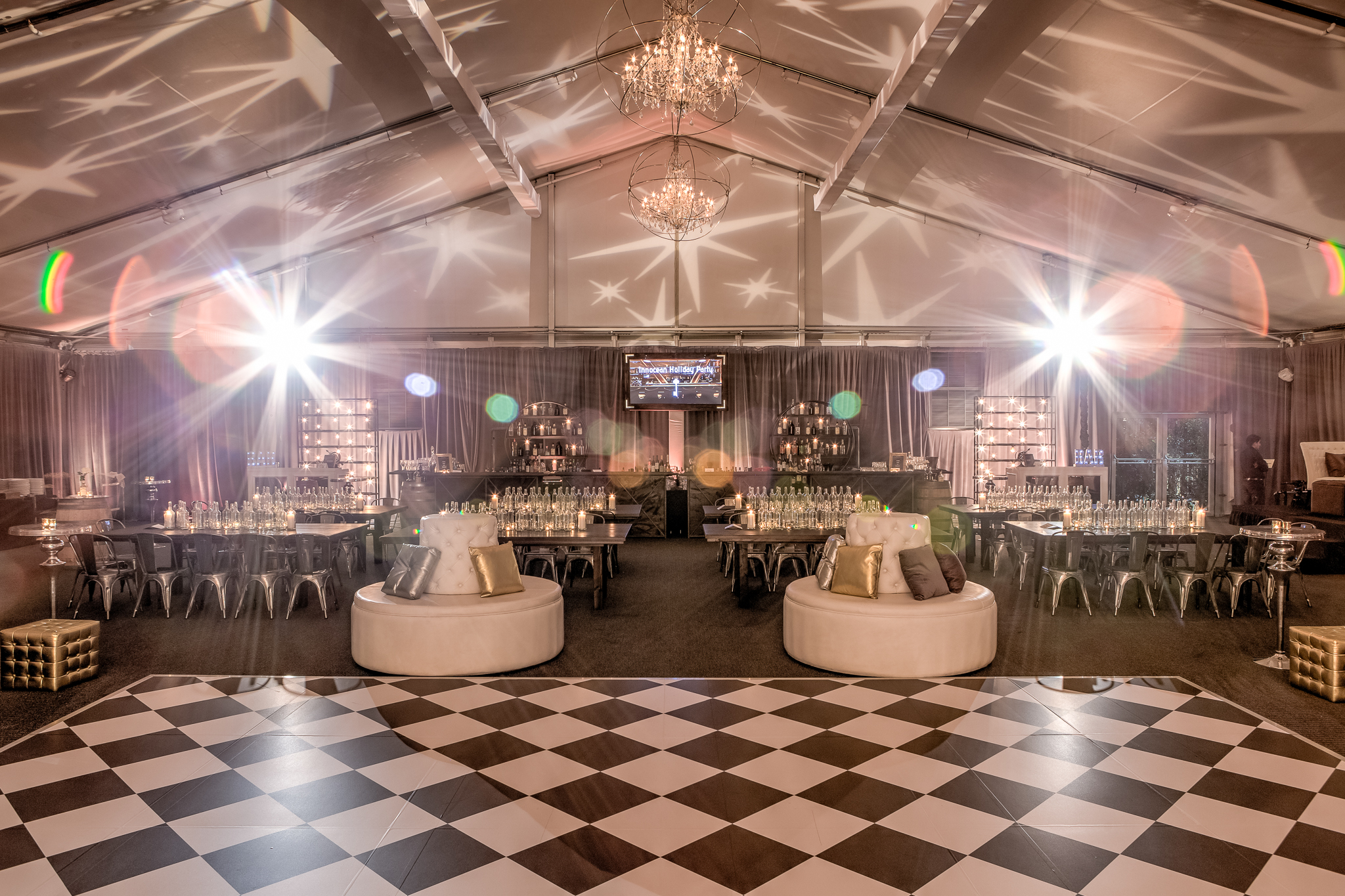 Corporate Event Custom Dance Floor Hotel Maya Long Beach
