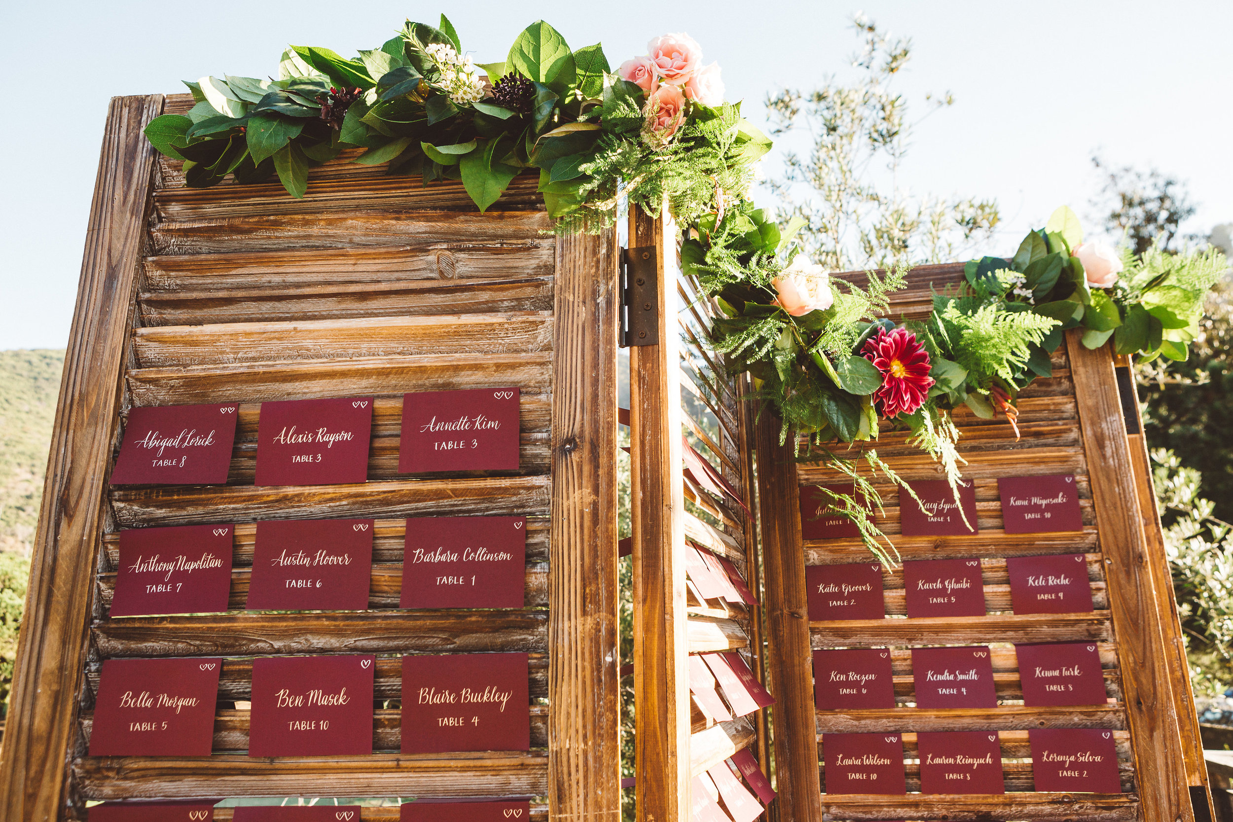 The Ranch Laguna Beach Custom Escort Wall