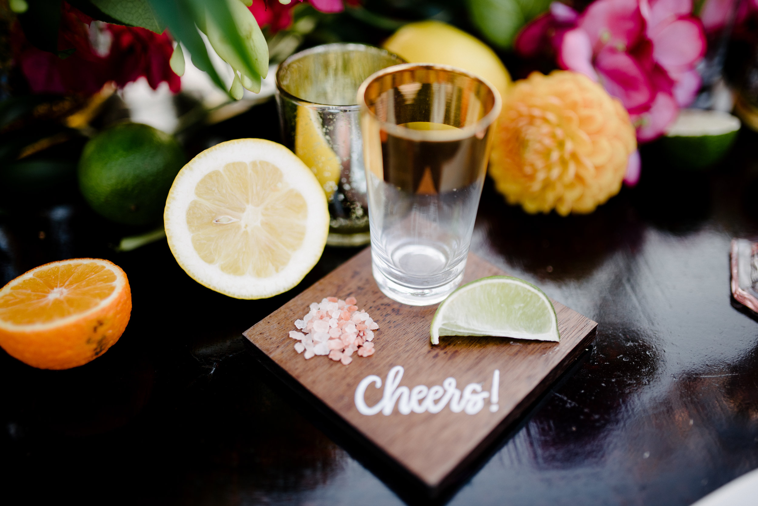 custom name card shot glass