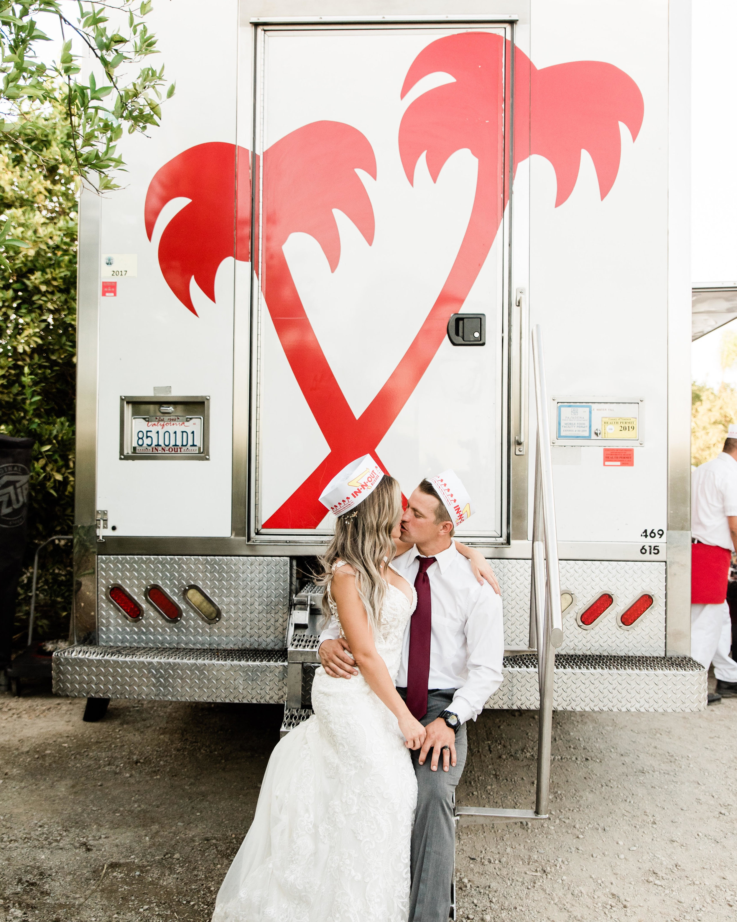 In N Out wedding catering