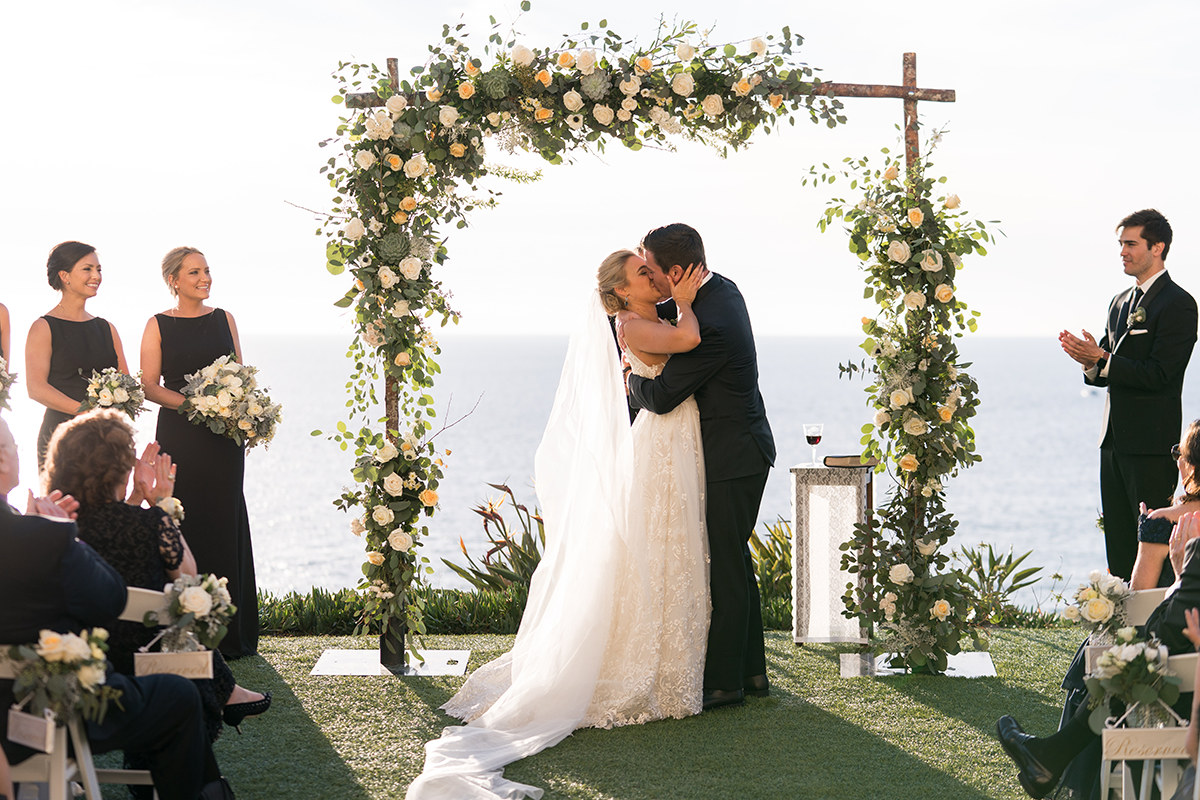 ritz carlton laguna niguel wedding ceremony