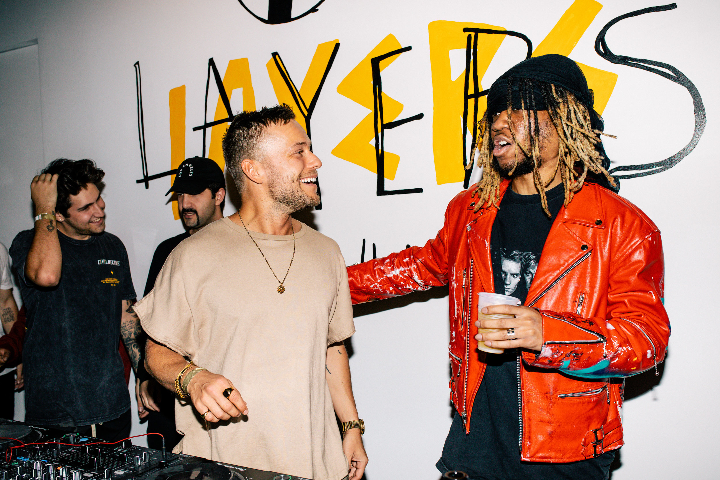Party Favor Los Angeles Album Release Party with OG Maco