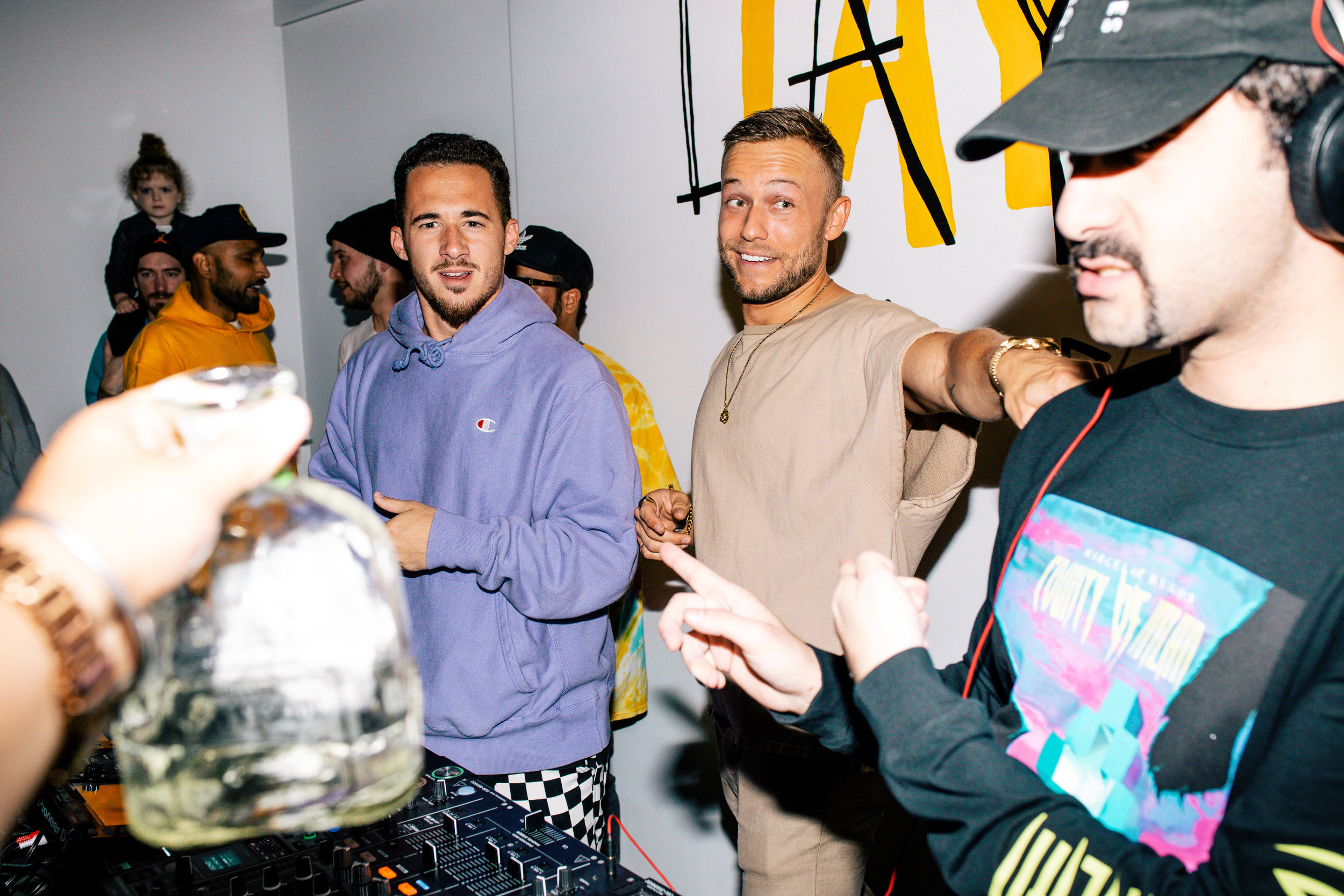 Party Favor Los Angeles Album Release Party with DJ 4B and Valentino Khan
