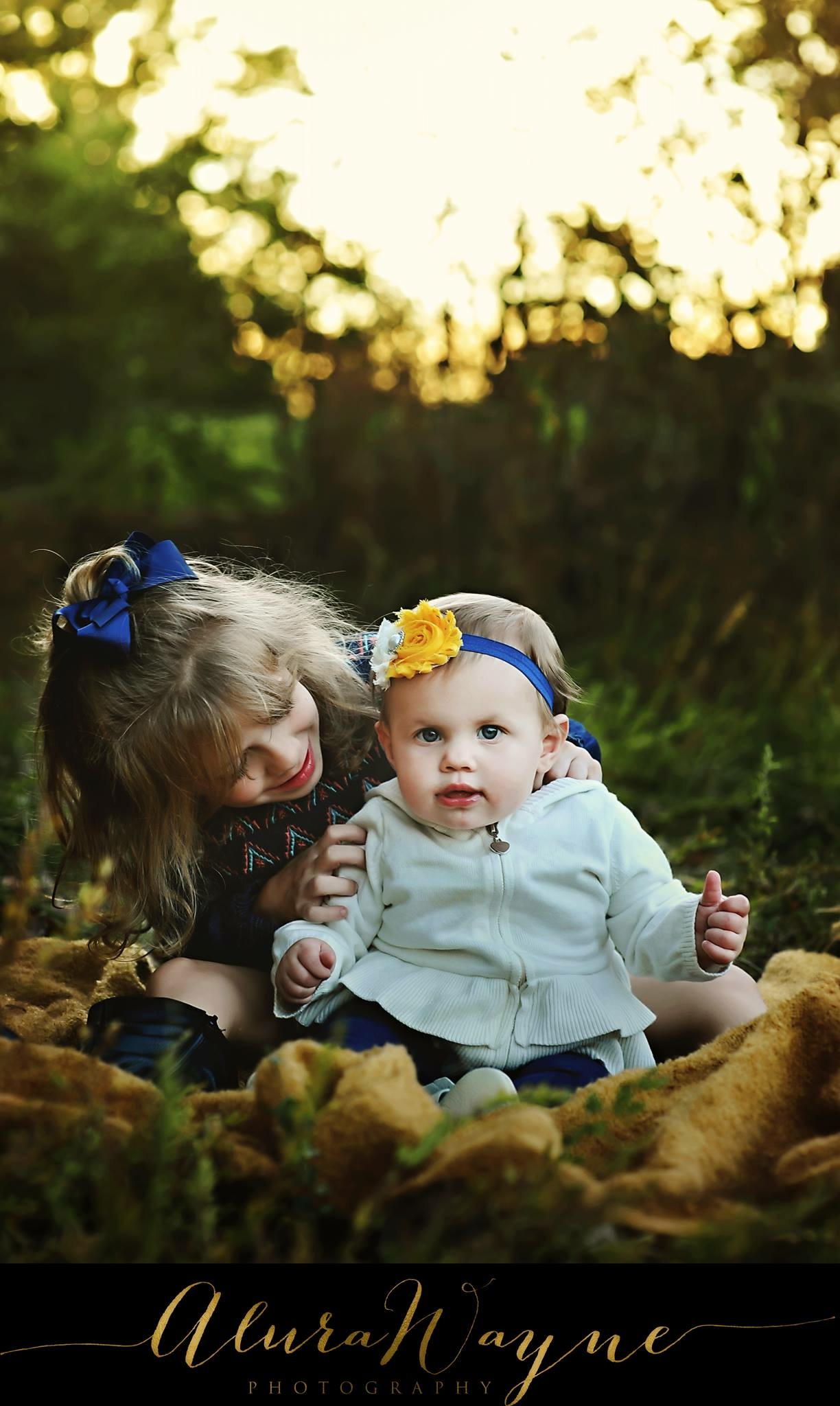 These sisters were too adorable for words!