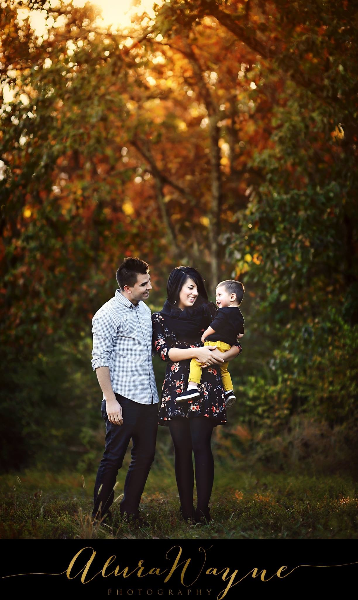 This family was precious- and dressed impeccably for fall!