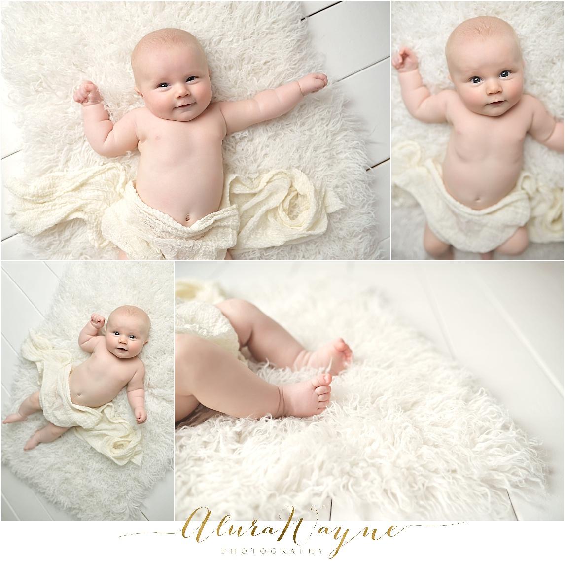 milestone session, nashville, tn alurawayne photography 3 month baby boy