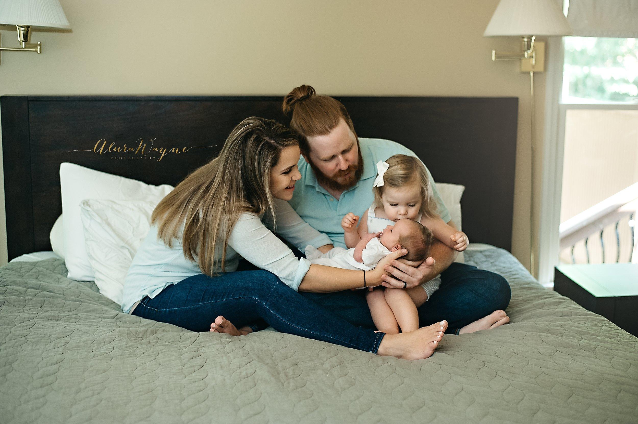 nashville newborn photographer | alurawayne photography+