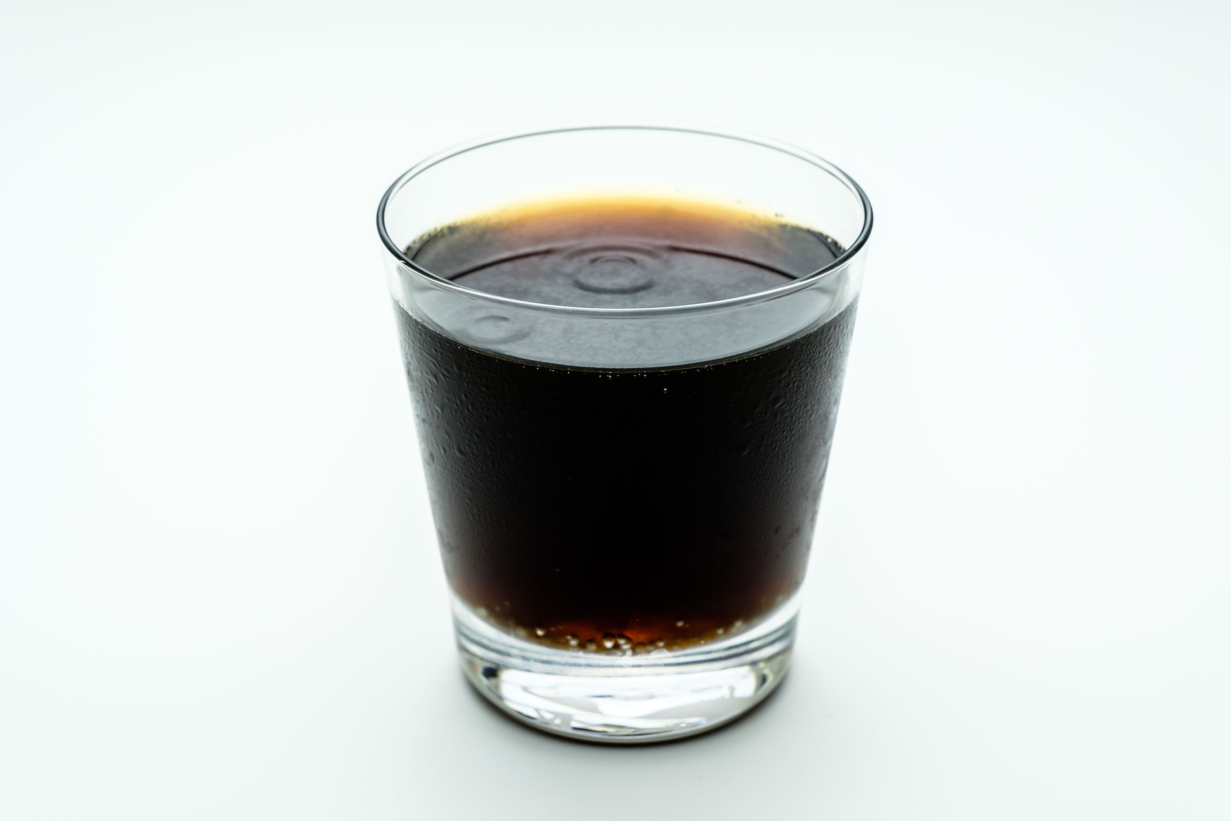 I think the colour of Coca-Cola Coffee Plus looks exactly like regular Coca-Cola does
