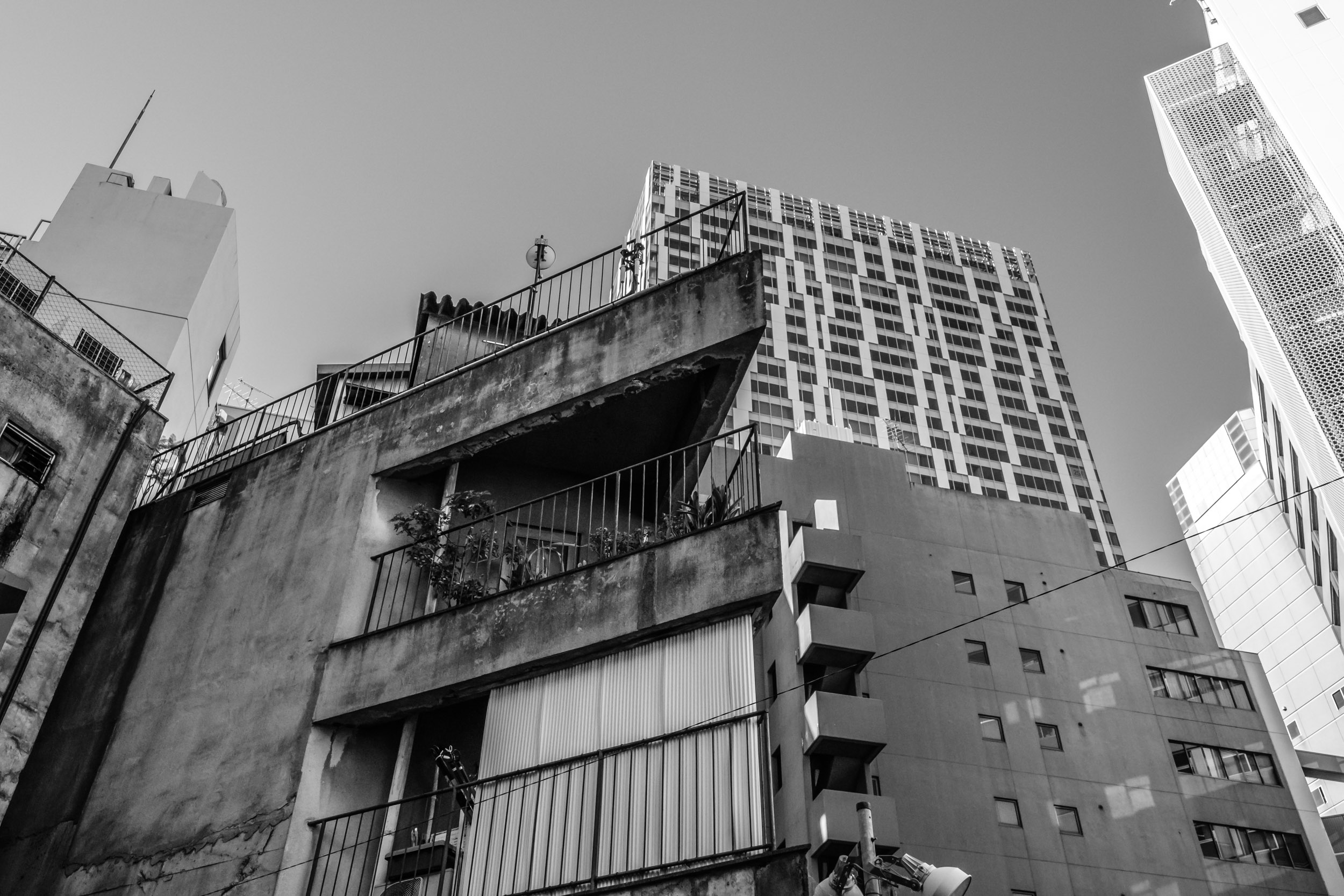 Old and new in Shibuya